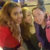 Kimberley and fans