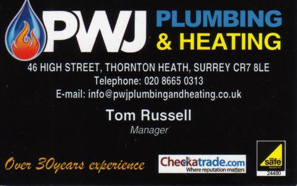 PWJ Plumbing & Heating